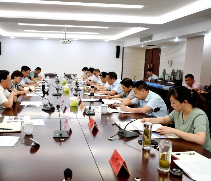 省委第十五巡回指导组到大观区指导党史学习教育工作